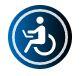 Icon für Accessibility-Widget